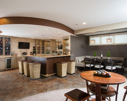 L Shaped Basement Bar Ideas Pictures Remodel And Decor