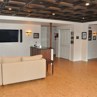Basement with Theater