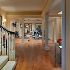 Traditional Basement by Jan Gleysteen Architects, Inc