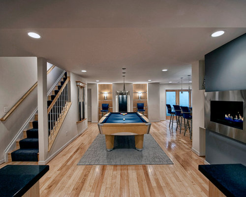Blue Basement Ideas Pictures Remodel And Decor
