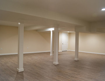 Basic Basement Remodel in Middlesex County