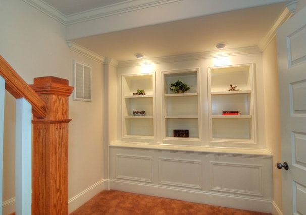 Traditional Basement by Beaman Building and Realty, Inc.