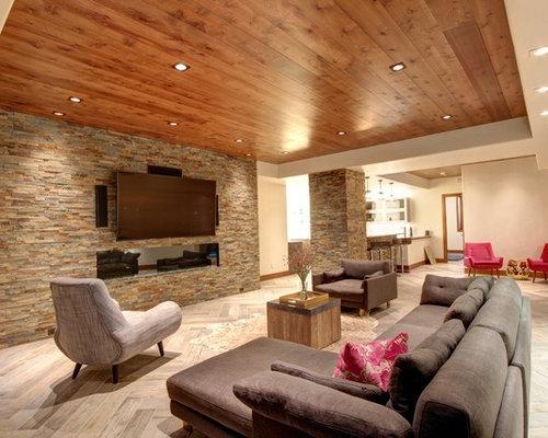 25  best midcentury basement ideas  u0026 designs