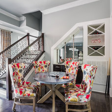 Transitional Basement by Eric Ross Interiors, LLC