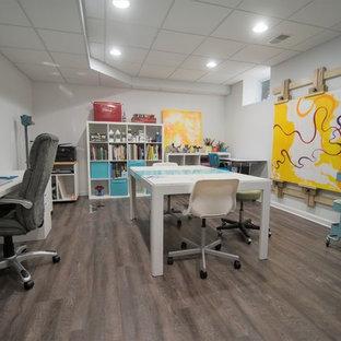 Berkley, MI Basement with Art Studio