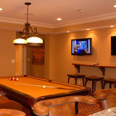 Traditional Basement by Future Home Technologies, LLC