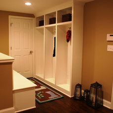Traditional Basement by KNOX & ALBANOWSKI general contracting