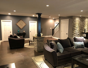 Blue Bell Finished Basement