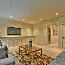 Craftsman Basement by Indie Capital
