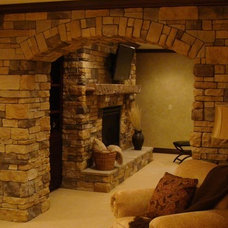 traditional basement by Buckeye Basements, Inc.