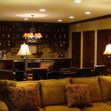 Traditional Basement by Buckeye Basements, Inc.