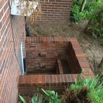 Brick Window Wells