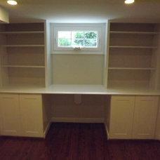 Traditional Basement by MLM Home Improvement LLC