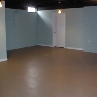 Budget Basement with Fitness Area