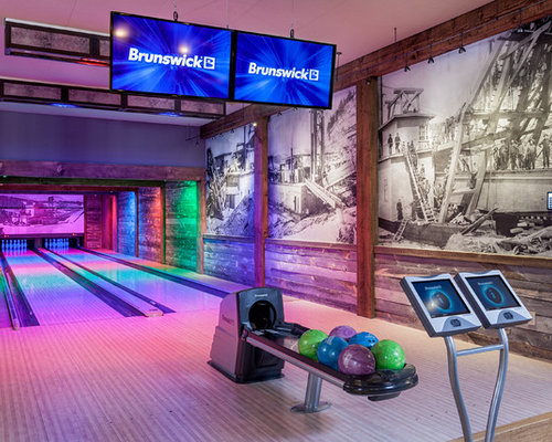 Best Basement Bowling Alley Design Ideas Amp Remodel