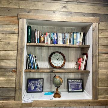 Built in Book Case