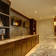 Traditional Basement by Rockwood Custom Homes
