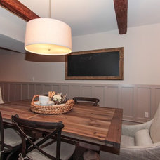 Traditional Basement by Viewegh and Assoc. LLC