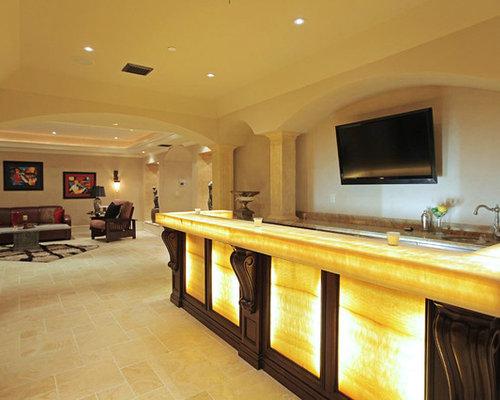 600 mediterranean basement design ideas remodel pictures. Black Bedroom Furniture Sets. Home Design Ideas