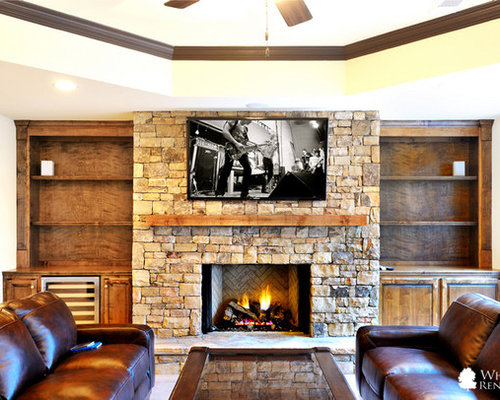 Best Ventless Fireplace Design Ideas & Remodel Pictures