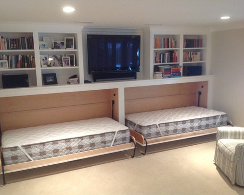 Best Twin Murphy Bed Design Ideas Remodel Pictures Houzz