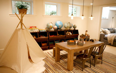 Room of the Day: A Renovated Basement With Room to Play