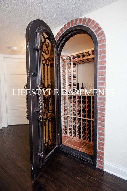 Mediterranean Basement by Lifestyle Basements|Kitchens