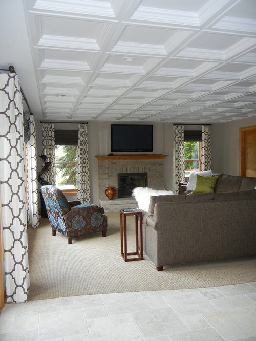 Coffered Ceiling Tiles Home Design Ideas Pictures