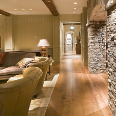 traditional basement by The Berry Group