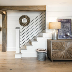 75 Farmhouse Basement Design Ideas