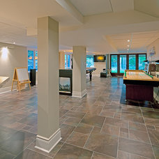Contemporary Basement by Peter A. Sellar - Architectural Photographer