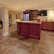 Traditional Basement by Peter A. Sellar - Architectural Photographer