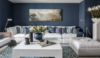 Chic Beach Lounge for Hamptons Designer Showhouse