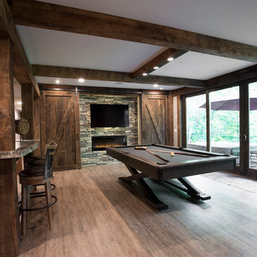 Clean Rustic Lower Level - Indian Hill