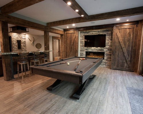 Our 25 Best Barn Wood Basement Ideas Amp Remodeling Photos