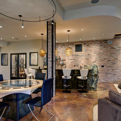 contemporary basement by Jon Eady Photographer