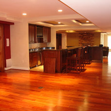 Traditional Basement by Juliano Design Build