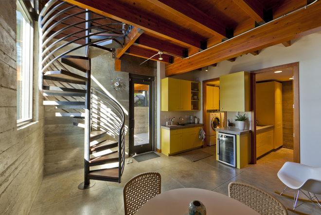Modern Basement by Uptic Studios
