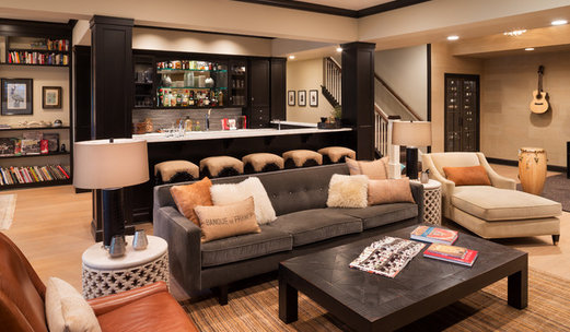 75 most popular basement design ideas for 2019 stylish basement rh houzz com basement suite design pictures best basement design pictures