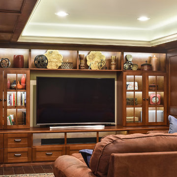 Comfortable Relaxed Man Cave