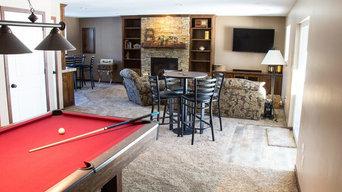 Complete basement finishing--Blaine, Minnesota