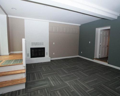 industrial boston basement design ideas pictures remodel