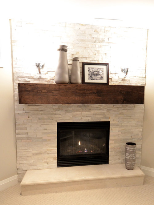 Basement Design Ideas Renovations Photos With A Corner Fireplace