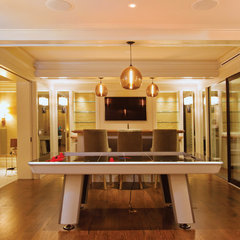 contemporary basement by National Association of the Remodeling Industry