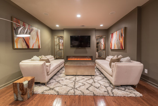 Transitional Basement by Space Reshape
