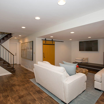 Contemporary Lower Level in Cleves