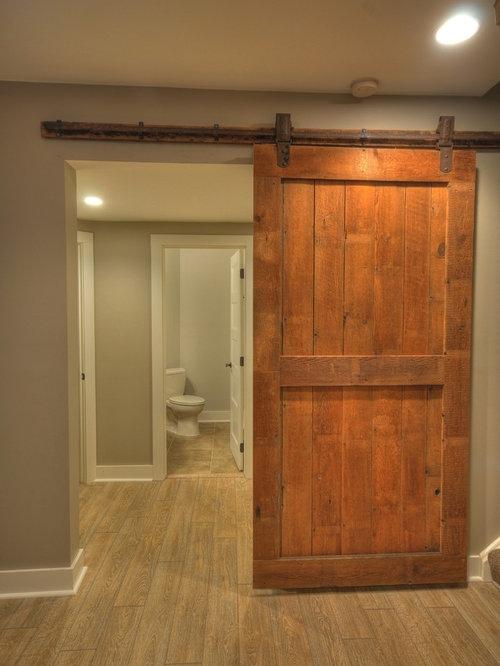 Cleveland basement design ideas pictures remodel decor for Rustic finished basement