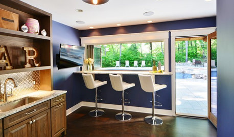 Room of the Day: Cool Poolside Cabana for Entertaining and Relaxing