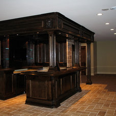 Traditional Basement by Graf Construction, Inc