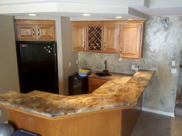 Basement by Countertop Creations